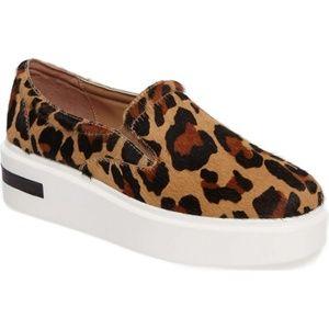 Linea Paolo Fairfax II leopard platform sneaker